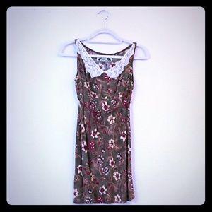 Los Angeles designer made vintage floral dress